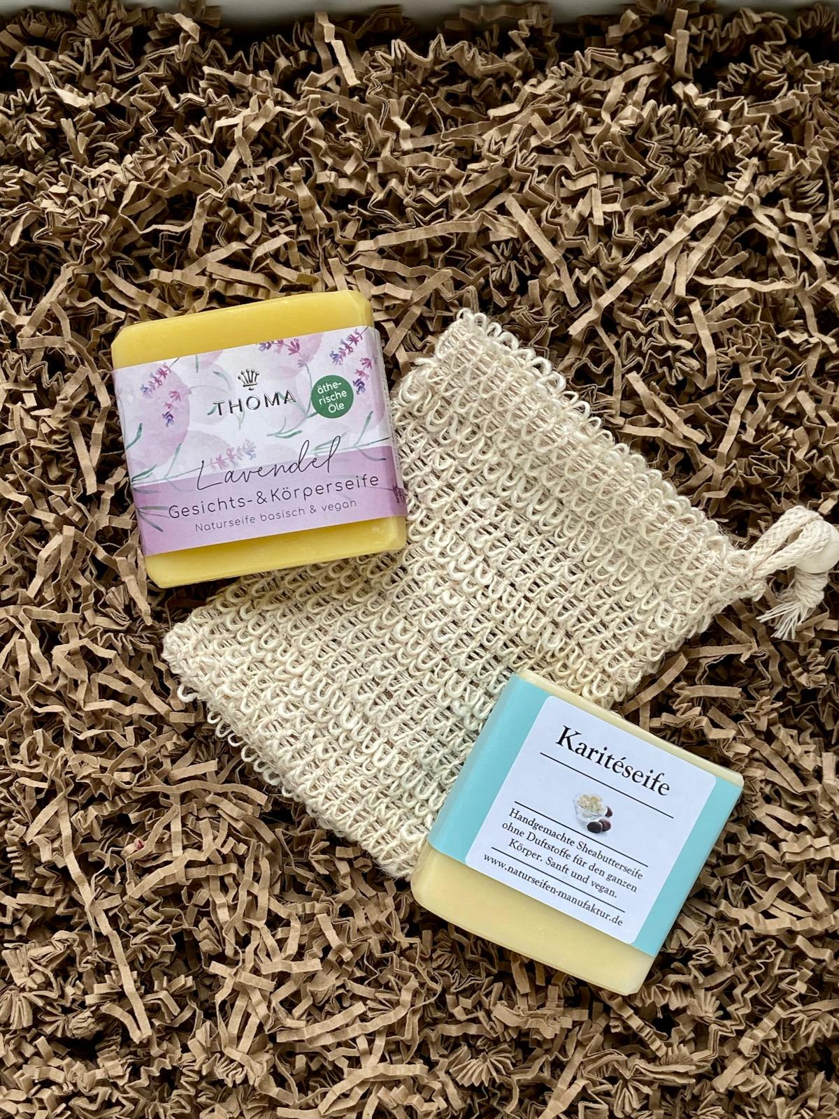 Naturseifen Manufaktur Uckermark Lavendelseife Karitéseife