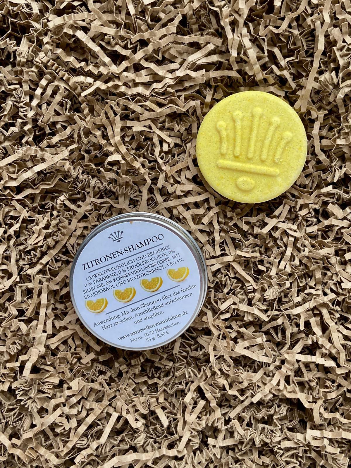 Naturseifen Manufaktur Uckermark Zitronenshampoo