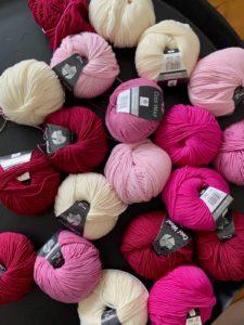 Strickprojekte (5): Strickturban, ein neuer RVO Pullover und Pläne