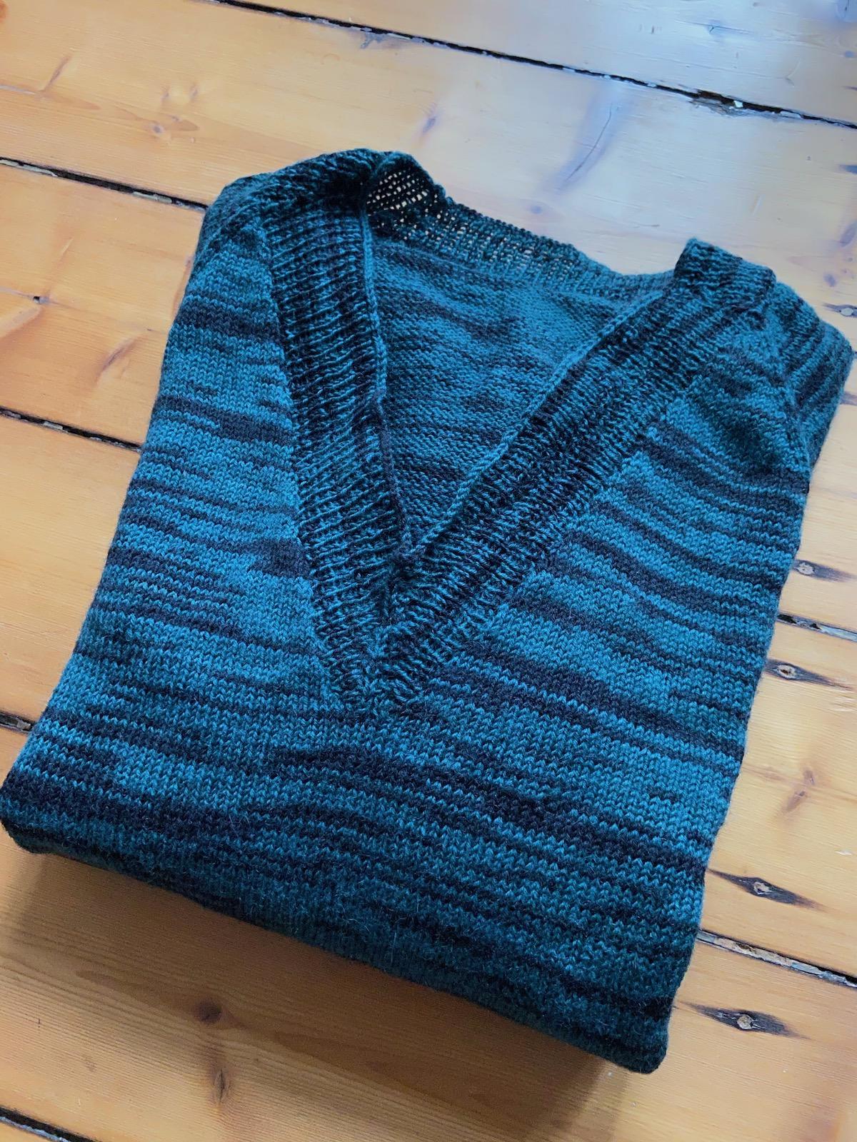 Pullover aus Sockenwolle 2
