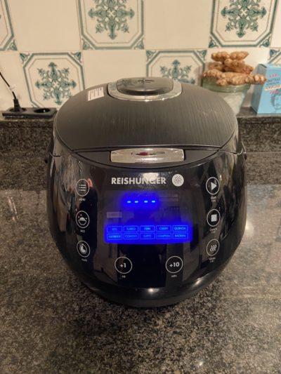 Reishunger Digitaler Reiskocher