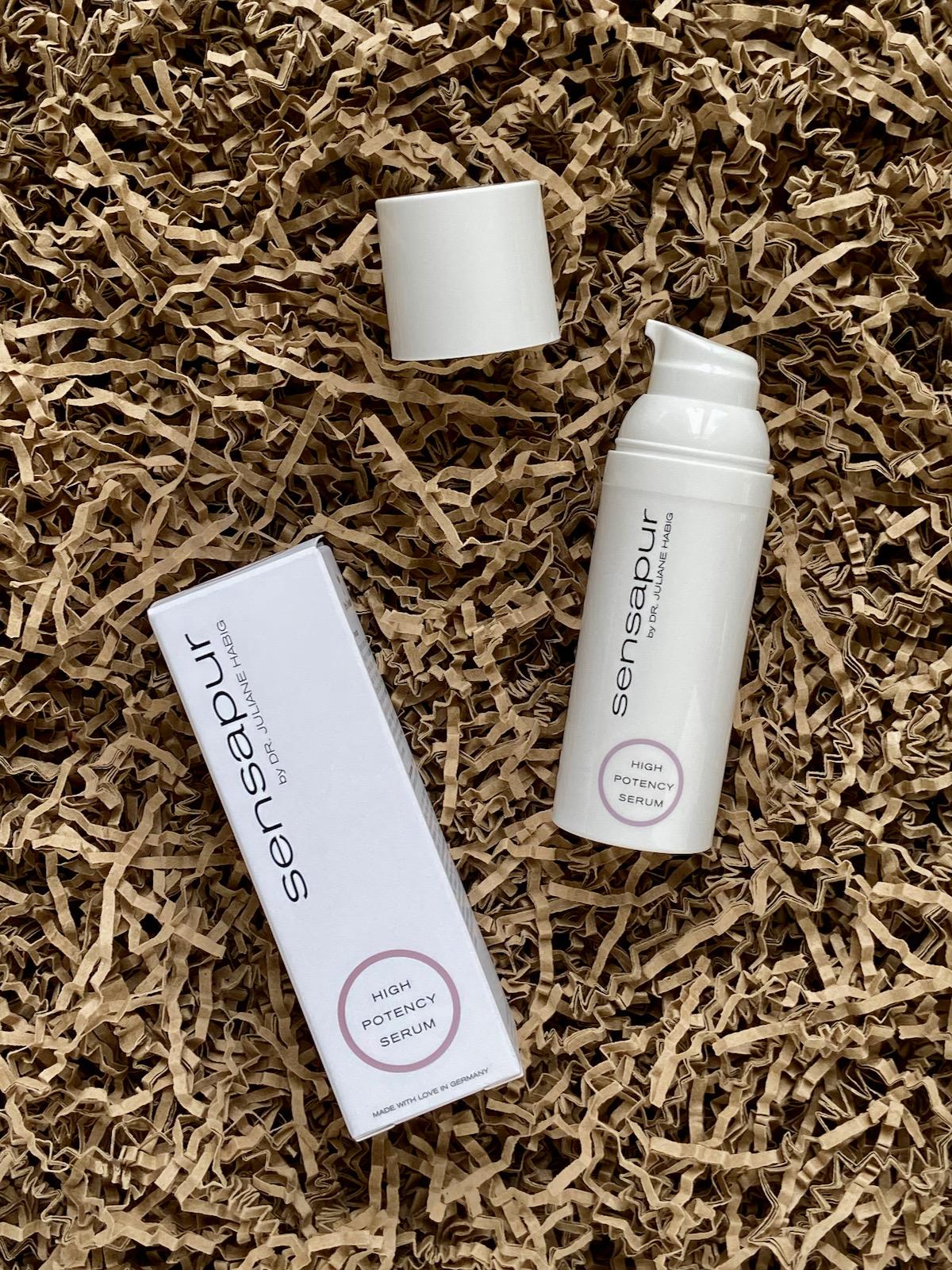 Sensapur High Potency Serum mit Verpackung