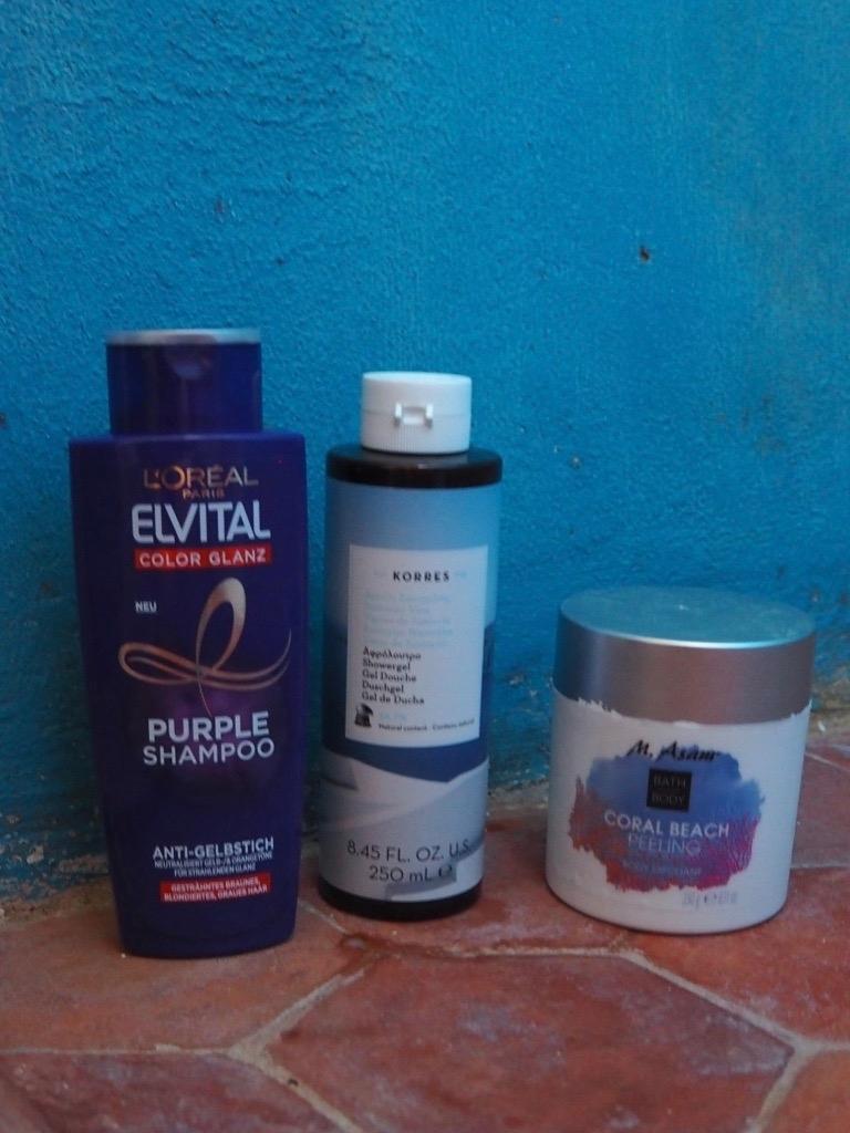 Shampoo Korres Santorini Duschgel Asam Coral Beach Körperpeeling