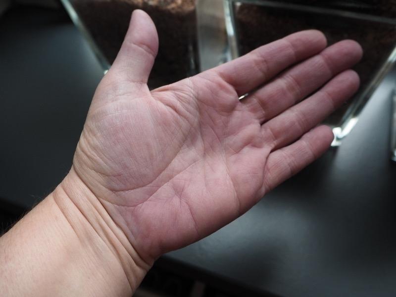 Silbershampoo verfärbte Hände