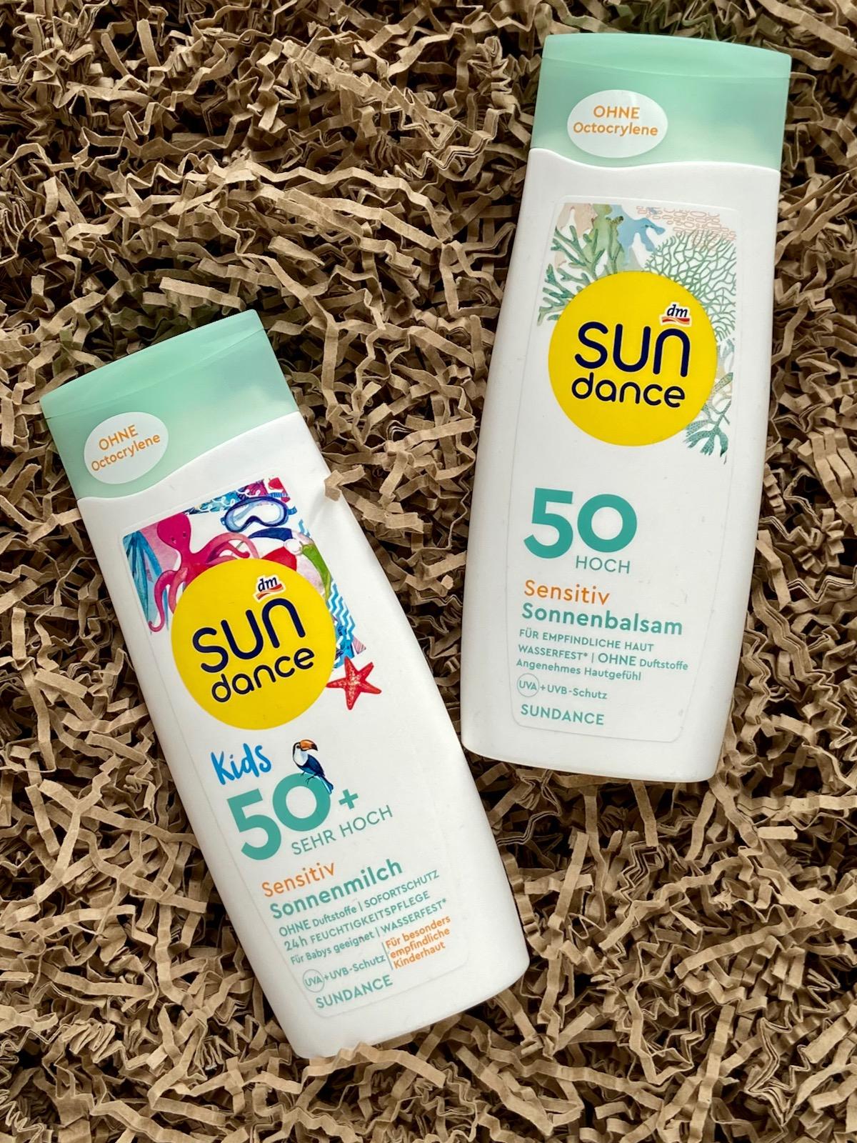 Sundance Sensitiv Sonnenbalsam SPF50 Kids Sensitiv Sonnenmilch SPF50
