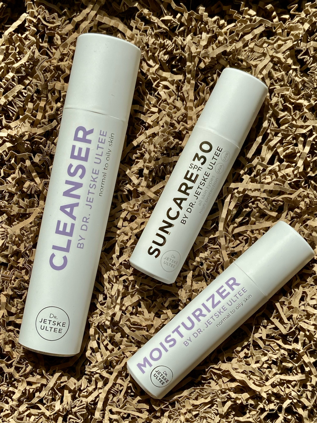 Uncover Skincare Cleanser Suncare SPF30 Moisturizer