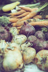Wochenendrezept: Geröstetes Wurzelgemüse aus dem Ofen mit Kassler